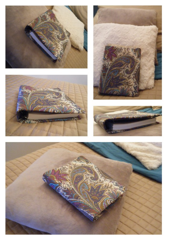 pele mele cahier recouvert de tissu